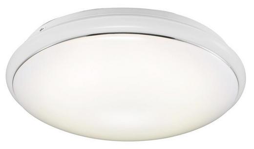 LED-DECKENLEUCHTE - Weiß, LIFESTYLE, Kunststoff (34cm)
