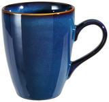 KAFFEEBECHER 280 ml  - Blau, Trend, Keramik (280ml) - Landscape