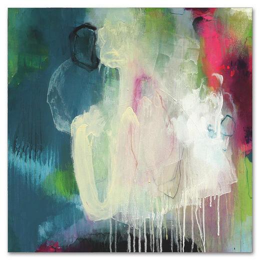 Abstraktes KEILRAHMENBILD - Multicolor, Textil (80/80cm) - WIEDEMANN
