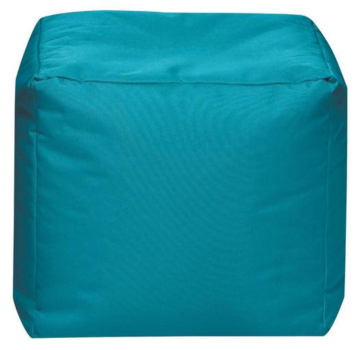 SITZWÜRFEL Petrol - Petrol, Design, Textil (40/40/40cm) - Carryhome