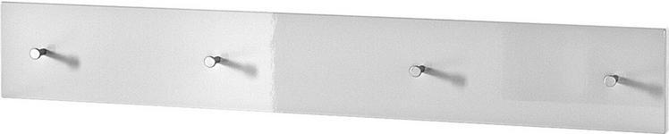 GARDEROBENLEISTE - Weiß, Design, Holzwerkstoff (106/15/5cm) - Xora