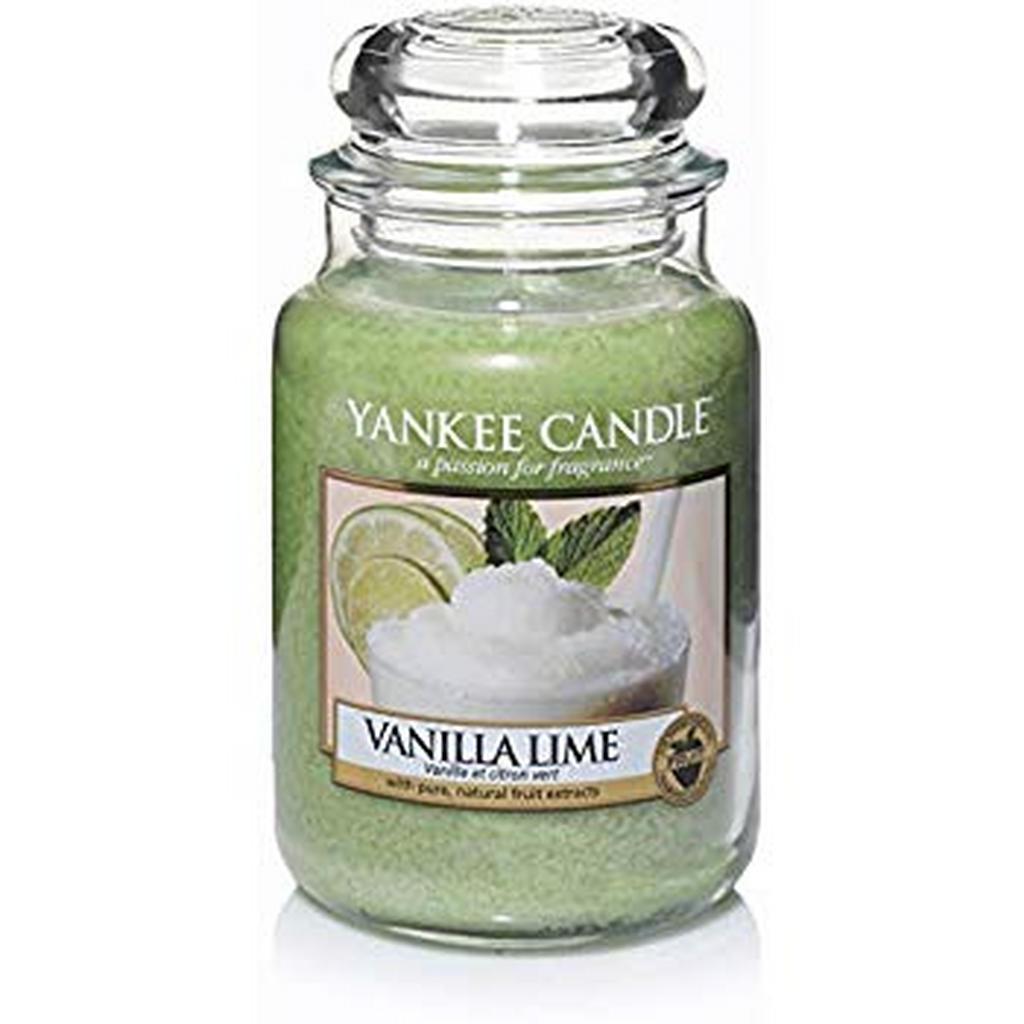 Yankee Candle Duftkerze yankee candle vanilla lime