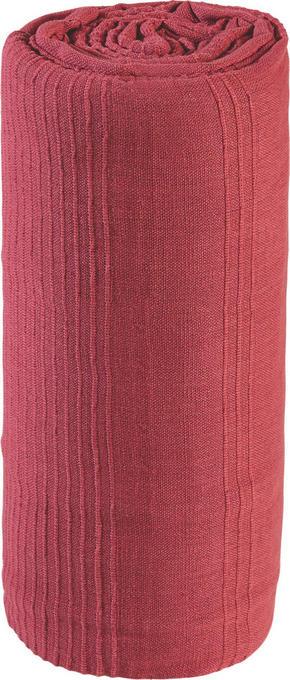 SÄNGÖVERKAST - röd, Basics, textil (220/240cm) - Boxxx