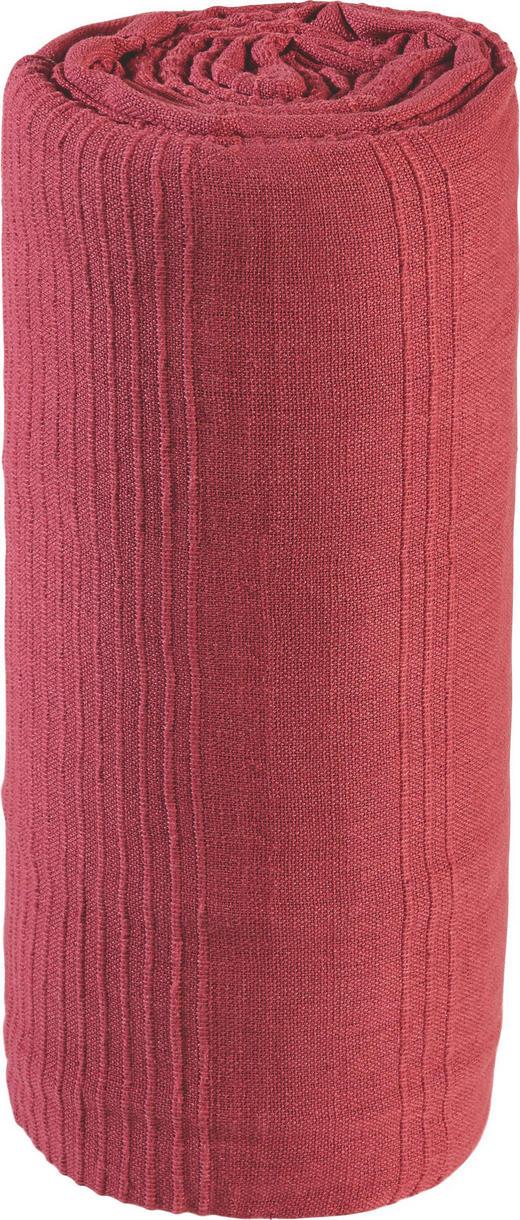 ÜBERWURF 220/240 cm - Rot, Basics, Textil (220/240cm) - Boxxx