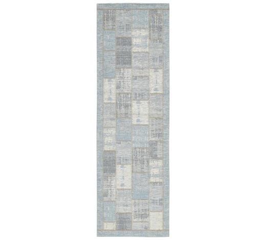 LÄUFER  68/220 cm  Hellblau  - Hellblau, Trend, Textil (68/220cm) - Novel