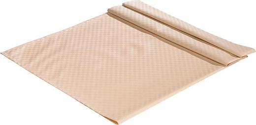 TISCHDECKE Textil Jacquard Naturfarben 135/170 cm - Naturfarben, Basics, Textil (135/170cm)
