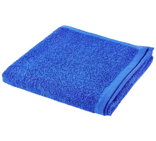RUČNÍK, 50/100 cm, modrá - modrá, Basics, textil (50/100cm) - Esposa