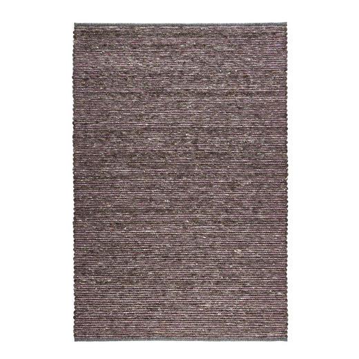 HANDWEBTEPPICH  140/200 cm  Anthrazit, Violett - Anthrazit/Violett, KONVENTIONELL, Textil (140/200cm) - Linea Natura