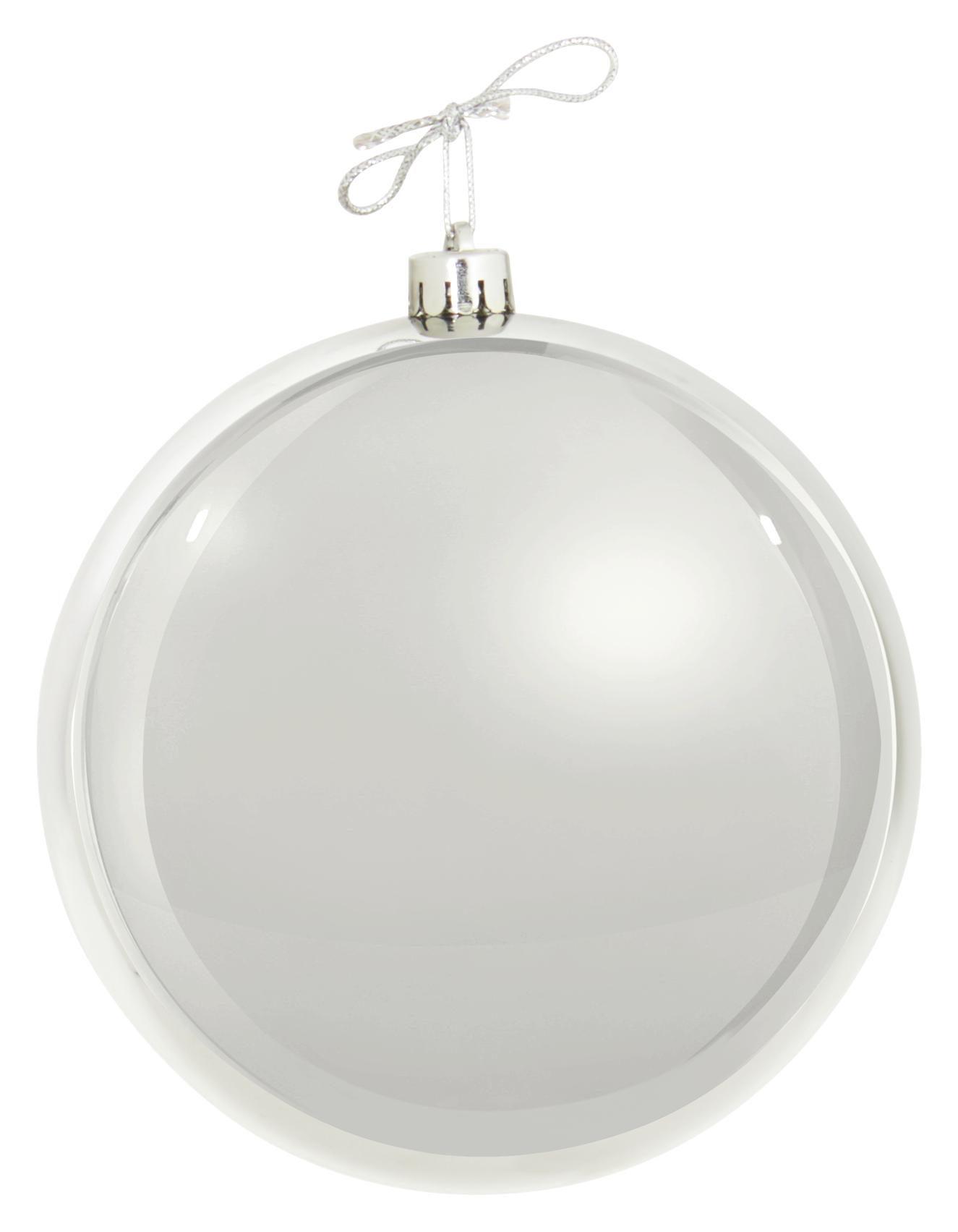 JULGRANSKULA - silver, Basics, plast (14cm)