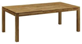 ESSTISCH in Holz 160/90/75 cm - Eichefarben, KONVENTIONELL, Holz (160/90/75cm) - Linea Natura