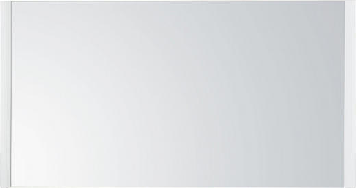 SPIEGEL Weiß - Weiß, Design, Glas/Holzwerkstoff (96/50/3,5cm) - Voleo