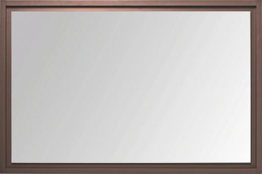 SPIEGEL - Dunkelgrau, Design, Glas/Holzwerkstoff (121/80/6cm) - Cassando