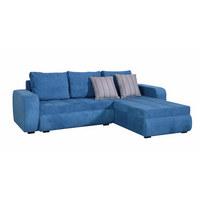 SEDEŽNA GARNITURA  turkizna tekstil - turkizna, Design, tekstil (245/170cm) - Boxxx