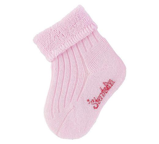 PONOŽKY - růžová, Basics, textil (14null) - Sterntaler
