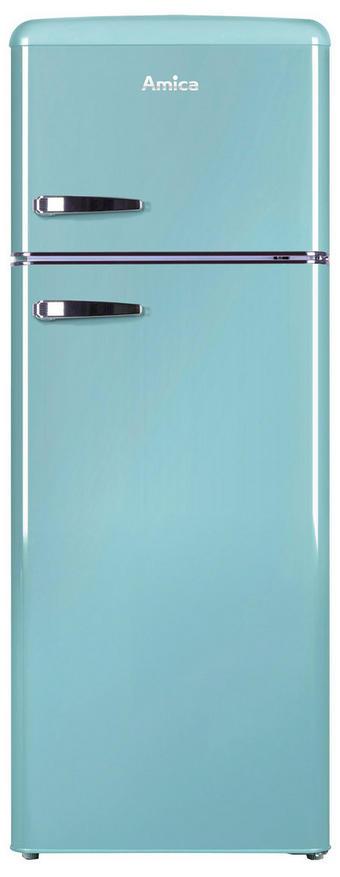 Kühl-Gefrier-Kombi KGC15632T - Blau, Basics, Metall (55/144/61,5cm)