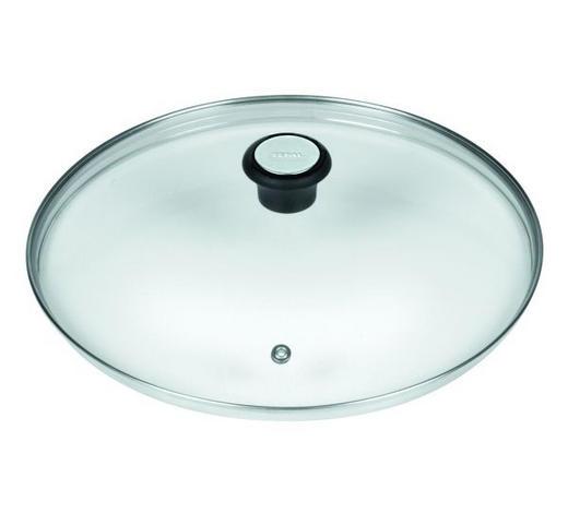 DECKEL - Klar, KONVENTIONELL, Glas/Kunststoff (24cm) - Tefal