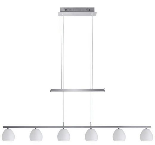 LED-HÄNGELEUCHTE - Weiß, LIFESTYLE, Metall (115/13/23cm)