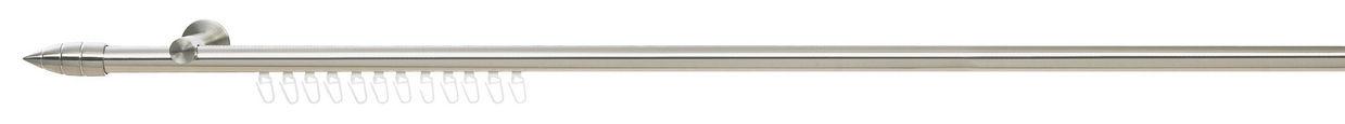 KARNIŠA - boje oplemenjenog čelika, Konvencionalno, metal (120cm) - Homeware