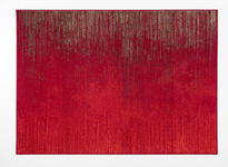 Webteppich Cheryl - Rot, Basics, Textil (160/225cm) - Ombra