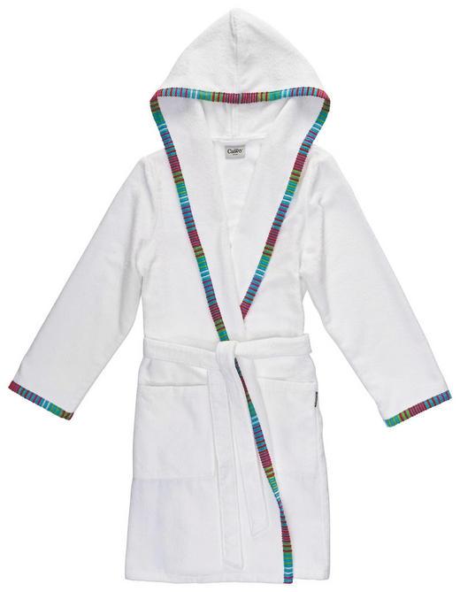 BADEMANTEL  Weiß - Weiß, Basics, Textil (44/46) - Cawoe