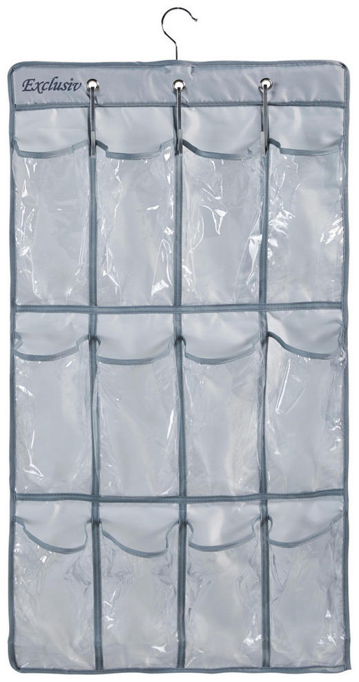 HÄNGEORGANIZER - Grau, Basics, Kunststoff (45/84cm)