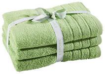 FROTTIERSET 50/100 cm 3-teilig  - Grün, Basics, Textil (50/100cm) - Esposa
