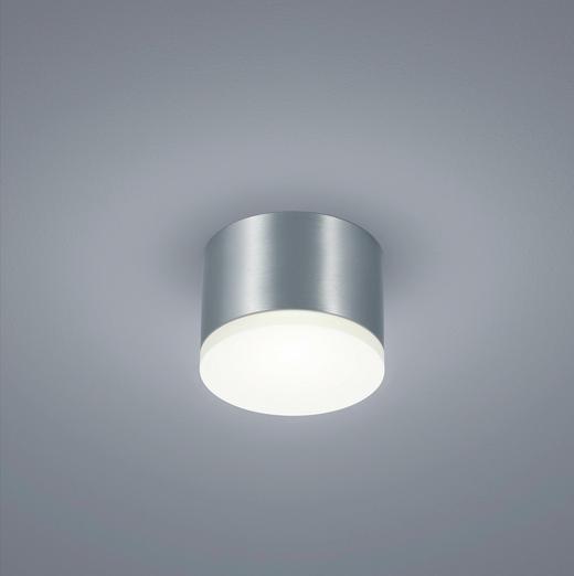 LED-DECKENLEUCHTE - Alufarben, Design, Metall (10/7cm) - Helestra