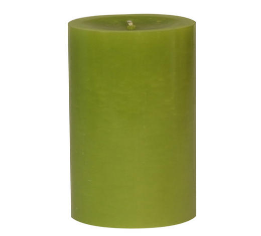 STUMPENKERZE 6,8/10 cm - Hellgrün, Basics (6,8/10cm) - Steinhart