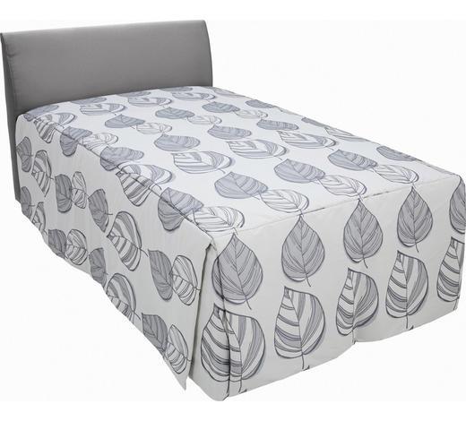 POLSTERBETT 100/200 cm  in Grau - Grau, KONVENTIONELL, Holz/Textil (100/200cm) - Ruf