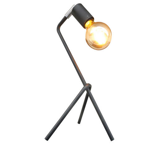 NAMIZNA SVETILKA - črna, Design, kovina (21/21/42cm) - Marama
