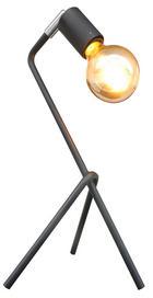 Tischleuchte - Schwarz, Design, Metall (21/21/42cm) - Marama