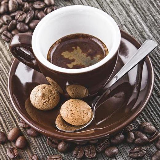 Kaffee GLASBILD - Multicolor, KONVENTIONELL, Glas (30/30/2cm) - Eurographics