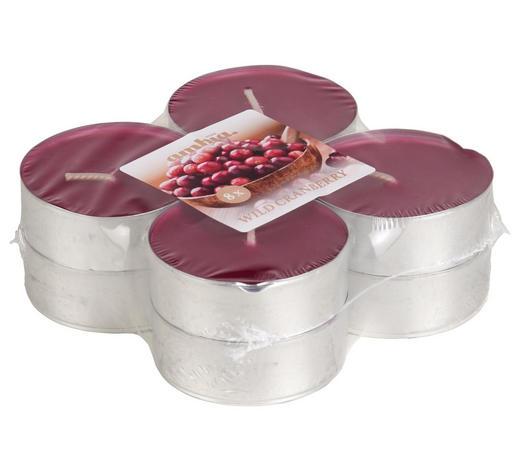 TEELICHT 8 Stück  - Pink/Alufarben, Basics, Metall (5,7/2,2cm) - Ambia Home