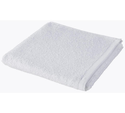RUČNÍK, 50/100 cm, bílá - bílá, Basics, textil (50/100cm) - Esposa