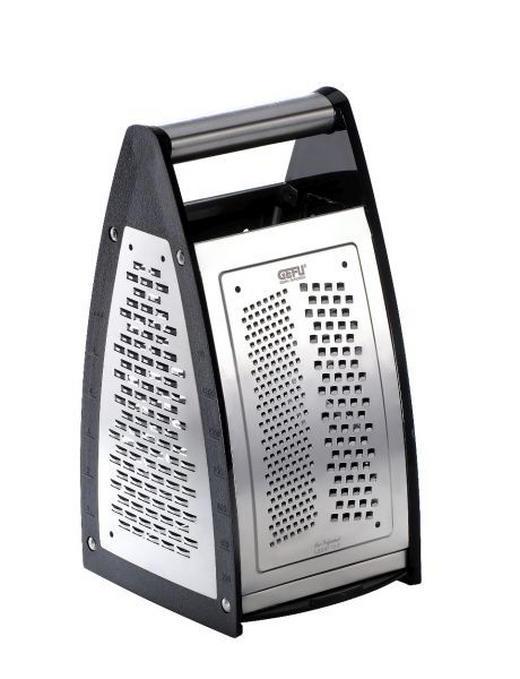 VIERKANTREIBE - Silberfarben/Schwarz, Basics, Kunststoff/Metall - Gefu