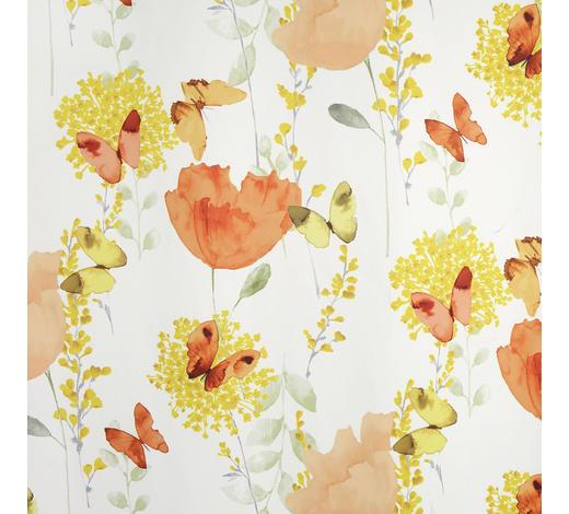 VORHANGSTOFF per lfm blickdicht  - Gelb/Orange, KONVENTIONELL, Textil (150cm) - Esposa