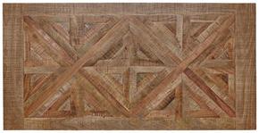 BORDSSKIVA - ljusbrun, Trend, trä (200/100/3,8cm) - Valdera