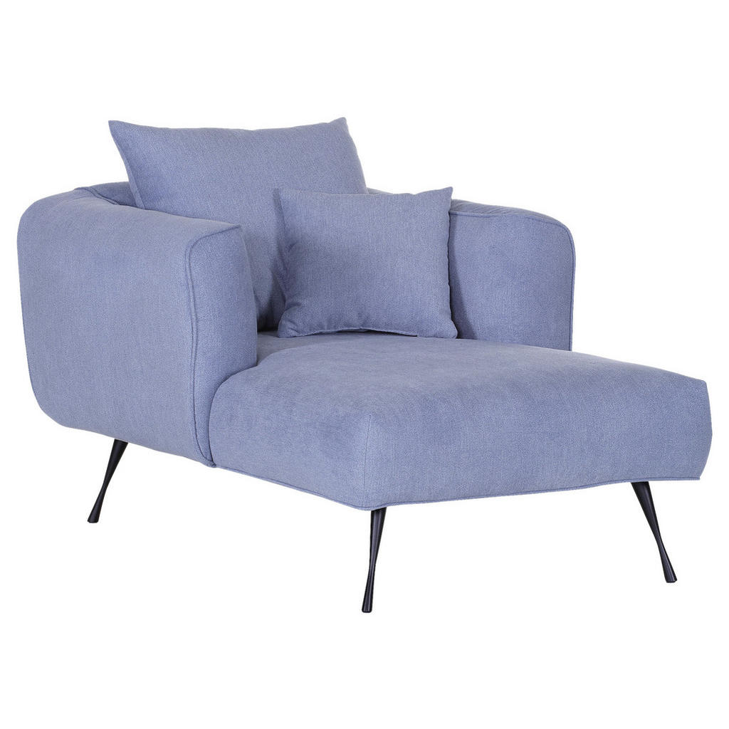 Livetastic BIG Sessel Flachgewebe Blau