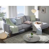 WOHNDECKE 130/170 cm  - Rosa/Weiß, KONVENTIONELL, Textil (130/170cm) - Ambiente