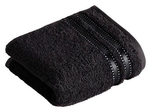 GÄSTETUCH Schwarz 30/50 cm - Schwarz, Basics, Textil (30/50cm) - VOSSEN