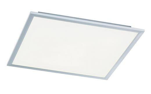 LED-DECKENLEUCHTE - Silberfarben, LIFESTYLE, Metall (60/5,5/60cm)