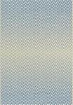 FLACHWEBETEPPICH  080/150 cm  Beige, Blau, Weiß - Blau/Beige, Design, Kunststoff/Textil (080/150cm) - Boxxx