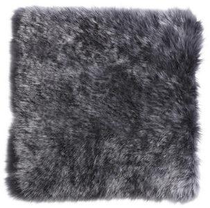 SITTDYNA - antracit, Klassisk, textil/päls (34/34cm) - Esposa