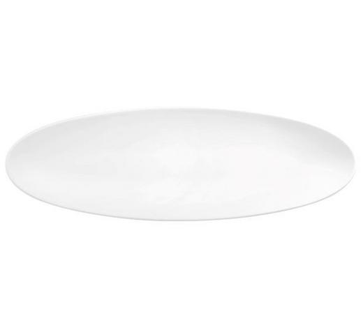 SERVIERPLATTE - Weiß, KONVENTIONELL, Keramik (14/44cm) - Seltmann Weiden