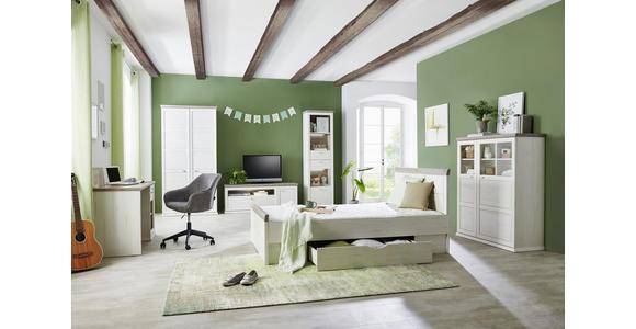 TV-ELEMENT 150/55,4/50,3 cm  - Weiß/Grau, LIFESTYLE, Holzwerkstoff/Metall (150/55,4/50,3cm) - Hom`in