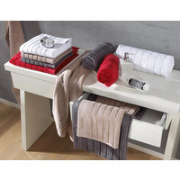 Handtuch 50/100 cm  - Weiß, Basics, Textil (50/100cm) - Esposa
