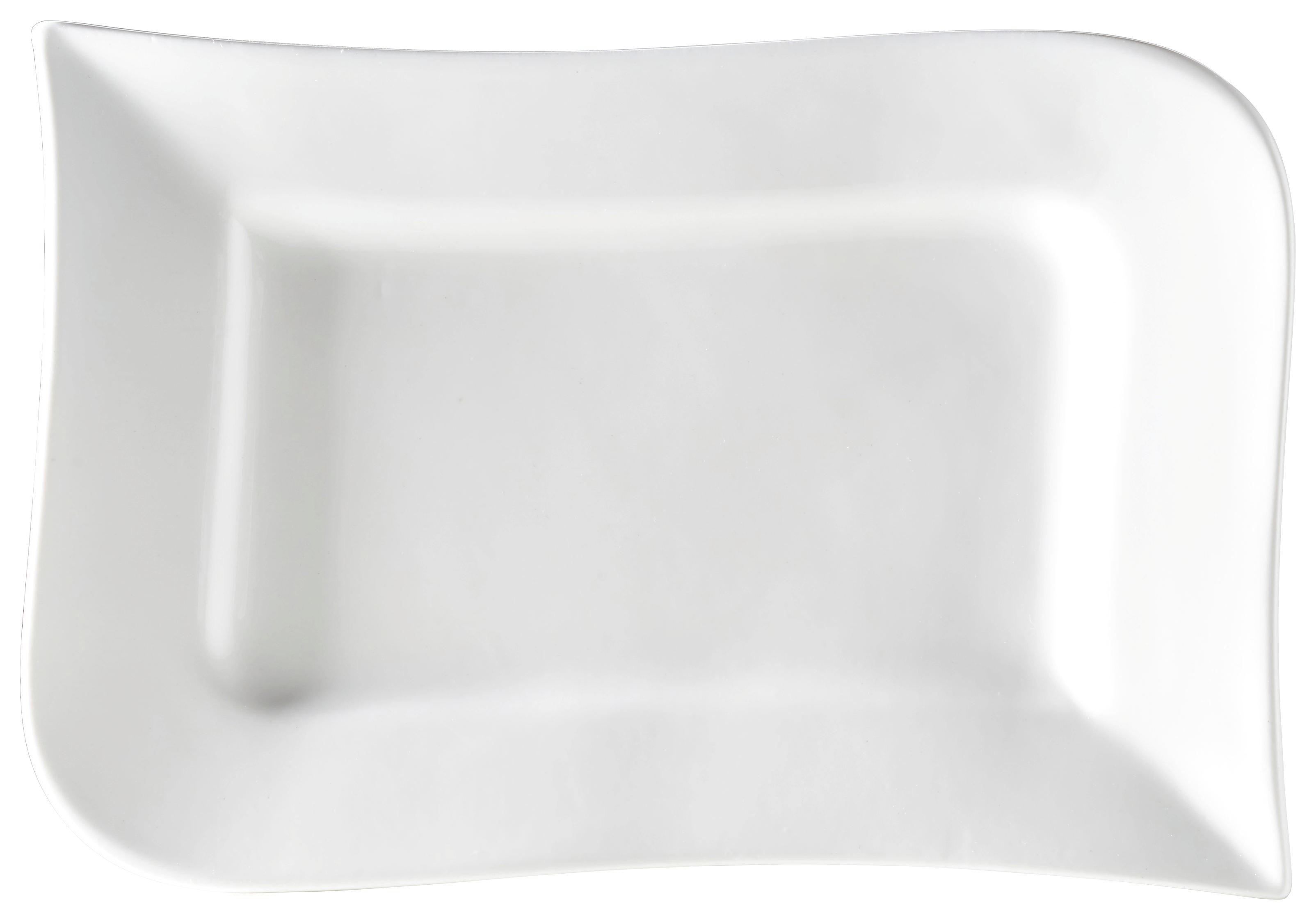 SERVIERPLATTE 36/3/23 cm - Weiß, Basics, Keramik (36/3/23cm) - RITZENHOFF BREKER