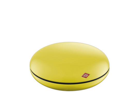 AUFBEWAHRUNGSDOSE - Gelb, Basics, Kunststoff/Metall (22/8,8/22cm) - Wesco