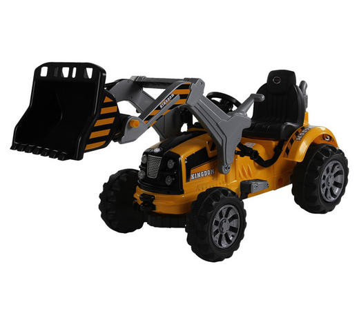 RIDE ON TRAKTOR T800 - Gelb, KONVENTIONELL, Kunststoff (148/61/64cm)