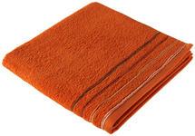 DUSCHTUCH 70/140 cm Orange  - Orange, KONVENTIONELL, Textil (70/140cm) - Esposa